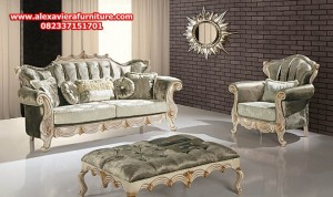 harga set sofa tamu mewah ukiran modern model terbaru kt-286