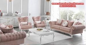 model sofa tamu minimalis modern mewah kt-288