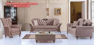 model sofa tamu modern klasik ukiran jepara terbaru kt-285