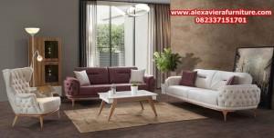 set sofa kursi tamu modern minimalis duco model terbaru jepara kt-283