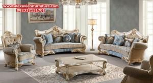 sofa ruang tamu caterin klasik mewah duco ukiran jepara model terbaru kt-287