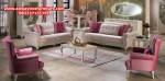 ukuran set sofa tamu minimalis modern duco putih model terbaru kt-272