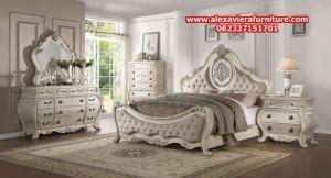 harga 1 set tempat tidur klasik duco model terbaru skt-147