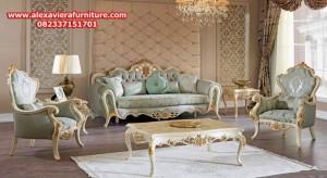 model set sofa tamu klasik modern asalet terbaru kt-294