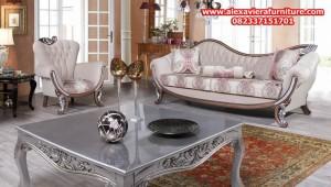 model sofa tamu modern mewah lotus terbaru kt-295
