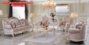 sofa tamu mewah ukiran klasik duco model terbaru kt-292