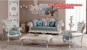 sofa tamu model terbaru modern klasik mewah kt-304