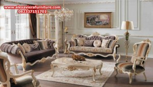 sofa tamu model terbaru modern mewah klasik kt-303