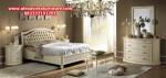 1 set tempat tidur model minimalis modern oval duco terbaru skt-155