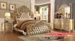 1 set tempat tidur ukiran klasik mewah terbaru goldenfrezz kekinian skt-156