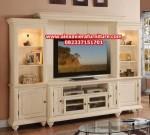set bufet dan rak tv minimalis duco modern mewah ah-173