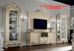 set bufet tv klasik mewah italy model terbaru ah-174