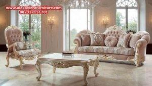 sofa tamu mewah klasik luxs duco moel terbaru kt-316