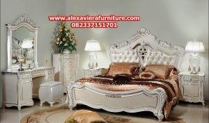 1 set tempat tidur klasik spalny model terbaru skt-159, set kamar klasik, gambar kamar set klasik