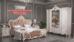 model set tempat tidur terbaru mewah klasik bedrice duco skt-171