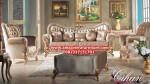 ukuran sofa ruang tamu modern mewah model terbaru kt-340