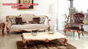 sofa tamu gozde klasik mewah eropa kt-357