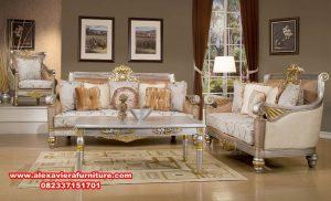 sofa tamu silver mewah klasik terbaru, sofa mewah modern, sofa kursi mewah, set sofa modern minimalis