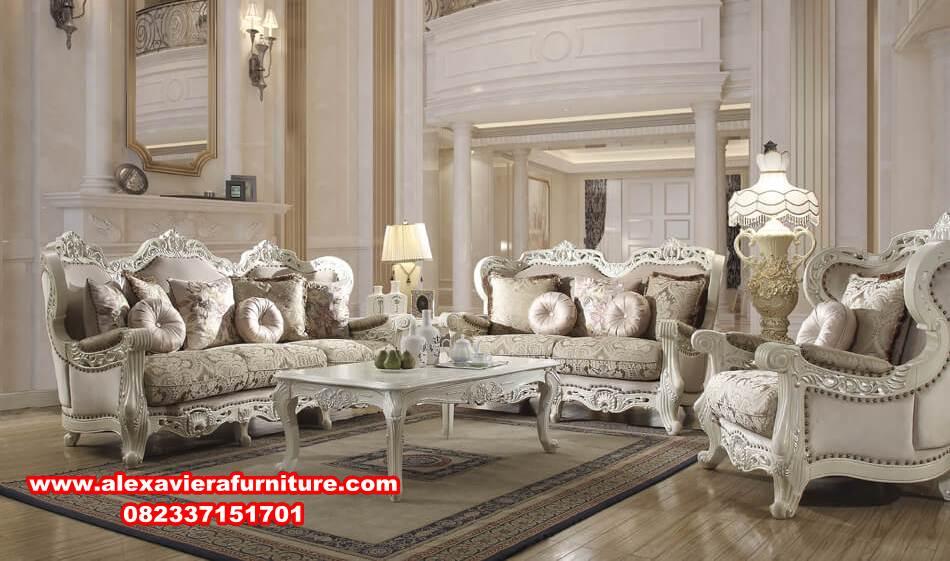Kursi Sofa Tamu Mewah Modern Terbaru Mahameru Alexaviera