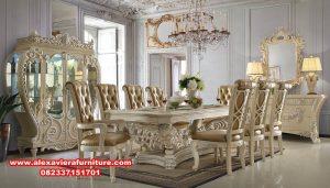 meja kursi makan mewah modern terbaru, set kursi makan klasik, kursi makan modern, set kursi makan, set meja makan, set kursi makan mewah, set kursi makan ukiran, set kursi makan model terbaru