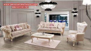 sofa kursi tamu mewah modern terbaru kamelya kt-377