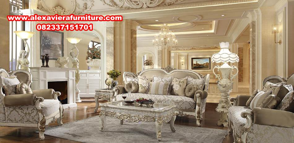 Set Sofa Kursi Tamu Mewah Modern Terbaru Alexaviera Furniture