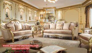 sofa kursi tamu modern mewah eropa gold kt-384