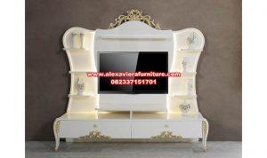 bufet tv modern mewah berkualitas duco bt-218