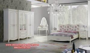 set tempat tidur modern minimalis lotus skt-183