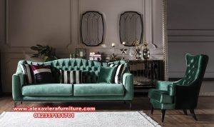 sofa tamu modern mewah minimalis clara kt-392