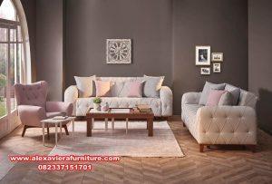 sofa tamu modern minimalis terbaru elegant kt-391
