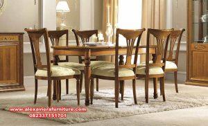 model meja makan 6 kursi jati klasik, model meja makan terbaru, set kursi makan klasik, meja makan modern terbaru, ukuran meja makan, gambar kursi makan, set kursi makan mewah