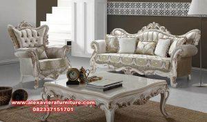 sofa ruang tamu eropa model mewah modern kt-403