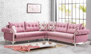 sofa ruang tamu sudut modern minimalis kt-399