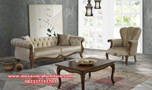 satu set sofa tamu modern klasik kualitas terbaik kt-412