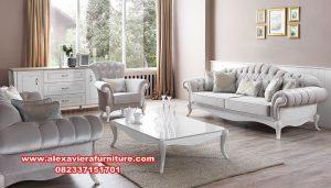 satu set sofa tamu modern minimalis kualitas terbaik kt-411