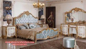 satu set tempat tidur klasik mewah terbaru eropa skt-189