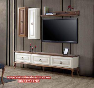 model bufet rak tv modern minimalis duco ah-228