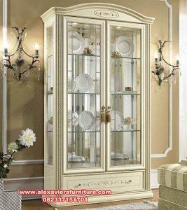 model lemari kristal modern mewah terbaru ah-220