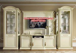 satu set bufet tv modern model terbaru ah-223