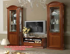 satu set bufet tv terbaru model modern ah-224