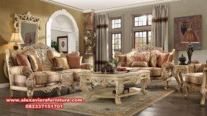 kursi sofa ruang tamu kualitas terbaik klasik mewah kt-419