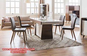 model kursi meja makan modern minimalis terbaru km-407
