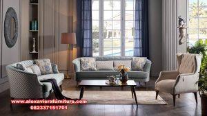 set sofa tamu kualitas terbaik modern mewah kt-422