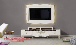 set bufet tv model mewah modern led ah-236