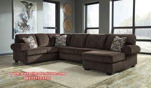 sofa ruang tamu sudut model terbaru minimalis kt-431