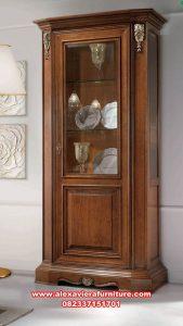lemari hias minimalis, lemari pajangan jati pintu 1 model minimalis, lemari pajangan, lemari pajangan model terbaru, lemari kristal, lemari hias mewah terbaru, lemari kristal mewah modern