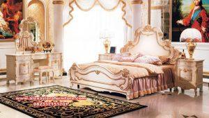 model tempat tidur klasik mewah eropa skt-219
