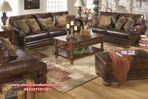 sofa tamu jati klasik modern kualitas terbaik kt-440