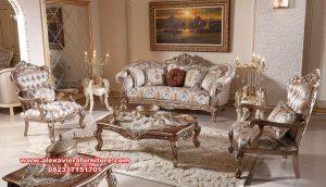 sofa kursi tamu klasik kualitas terbaik kt-462